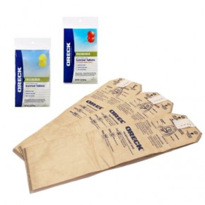 Oreck Magnesium Upright Odour Fighting Bags & Scented Tabs Kit