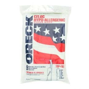 Oreck Hypo-allergenic Upright Filter Bags for XL models (Pack of 9)